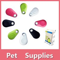 Wholesale New Smart Bluetooth Anti Lost Alarm Tracker GPS Locator Kids Wallet Key Pets Dog Finder For iPhone Samsung Android Shipping Free