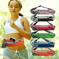 Wholesale The new listing More Function Outdoors Run Motion Mobile Phone Personal Invisible Pocket backpack soft casual waist pack sport bag