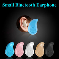 Cheap S530 Mini Wireless Small Bluetooth Earphone Stereo Light Stealth Headphone Headset Earbud With Mic Ultra-small Hidden Universal EAR191