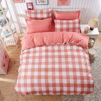 bedding for men comforter sets - Comfortable Cotton Bedding Set Bedsheet Duvet Cover Pillowcase Bedlinen Bedclothes Twin For Women And Man Bed Linens