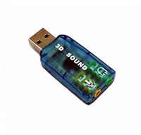 Wholesale USB Sound Card with Audio Input and Output for pcDuino