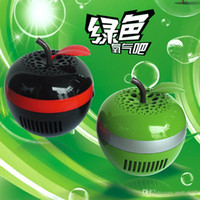 Wholesale Creative Apple USB oxygen bar anion air purifier with aromatherapy function radiation