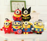 big green animations - Hot Sale The Avengers Alliance Despicable Me Doll Minions Plush Toy CM The New Animation Film Plush Toys