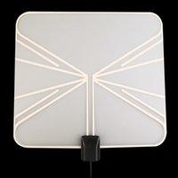 Wholesale High Quality Digital Indoor HD TV Antenna Box Flat Design High Gain OHM Black LAN Hot Promotion