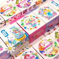Wholesale yuan Mikimood and paper tape cartoon entire volume decorative label journal hand book paper hand tear