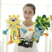 big kid mascots - In Rio DE janeiro Olympic mascot vinicius cm plush dolls