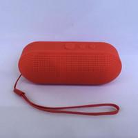 Boîte de haut-parleur de radio France-Mini Pill Bluetooth Speaker Protable Bluetooth Haut-parleurs sans fil intelligents mains libres Sound Box Avec lecteur mp3 FM Radio TF de soutien carte Mini