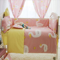 Wholesale Super pretty korea style baby bed sets with baby sheet set best bedding sets