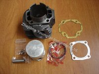 Wholesale Scooter ATV Minarelli E50QMF stroke cc JOG90 DM Polaris Keeway Hurricane mm big bore kit Cylinder Set cc