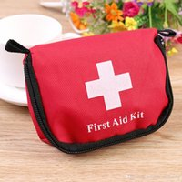 Wholesale In Stock Hot Sell First aid kit Mini Car first aid kit bag outdoor Emergency Camping Survival Kit Home Medical bag