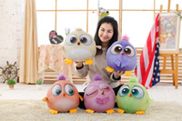 Wholesale Dolls toys Angry Birds plush toys cm cm baby toys for kids toys Birthday gift box