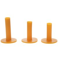 Wholesale 60 mm Rubber Golf Tee Holder Durable Practice Golf Mat Training Golf Accessories Sports Ball Tees