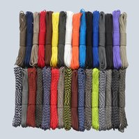 Wholesale 50ft New Paracord Paracord Parachute Cord Lanyard Rope Mil Spec Type III Strand Climbing Camping