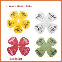 Wholesale 20pcs set Guitar Picks Guitar Plectrum Alice AP P mm Smooth ABS Guitar Parts Accessories Top Quality