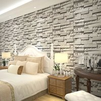 Wholesale 3d perspective retro imitation brick pattern wallpaper brick bricks ladies clothing store wallpaper bedroom living room TV backdrop