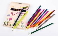 artist pack - colour pencil Oil pen box packed mini color Non toxic Pencils Erasable Student children Coloring Sketch Artist fluency Secret Garden
