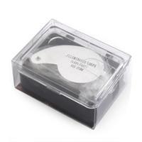 Compra Led magnifier-40x 25 mm Lupa de joyería joyero Lupa Lupa Ojo Loop tz luces Led de luz