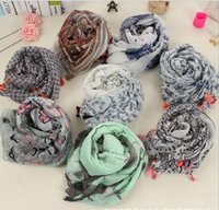 Wholesale NEW arrival printed floral tassels Bohemian cotton shawls long wrap Spring Bird Flower autumn scarves scarf