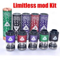 able black - NEW Limitless mod Kit Limitless Rda Rta Clone color Timekeeper Mod Able mod Shock and Awe Mod Oversoul mod DHL