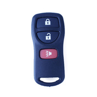 Wholesale 2PCS Buttons Reaplacement Remote Car Keyless Entry Remote Fob Transmitter Clicker Beeper Alarm