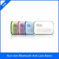 Wholesale Intelligent Bluetooth Anti lost Tracking Nut Mini Smart Tag GPS Tracker Bluetooth Anti lost Alarm Key Finder Locator New