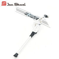 Wholesale Bike Kickstand For Mountain Bike Adjustable Kickstand Bike Support Cycling Side Stand Parking Leg Rod Parking Racks White Black