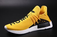 Wholesale Men s NMD Human Race Primeknit Sports Running Shoes Cheap HumanRace Trainers Sneaker With Boxes