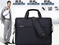 Wholesale Laptop Bags inch inch inch Multifunction Portable Tablet Laptop Computer Bag Shoulder Briefcase Large Capacity