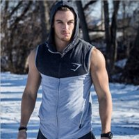 animal workout clothing - Mens Bodybuilding Hoodies Gym Brand clothing Workout Shirts Hooded Sport Suits Tracksuit Men Chandal Hombre Gorilla wear Animal
