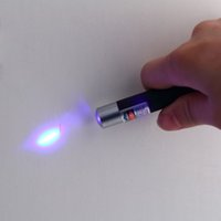 Wholesale car Blue Laser Pointer Pen nm mW Violet Purple Blue Ray Hot New Arrival