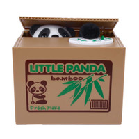 automatic coin - Itazura Automatic Stealing Coin Panda Kitty Coins Penny Cents Piggy Bank Saving Box Money Box Kids Gift