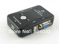 VGA Cable auto selector - T USB2 KVM Ports Selector VGA Print Auto Switch Box VGA SVGA Switch Box Adapter x maximum resolution