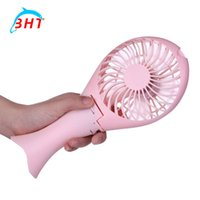 beautiful hand fans - Bendable Flexible Mini USB Hand Beautiful Design Mermaid Candy Colours Fan Mini Protable Rechargeable For Notebook Laptop Computer