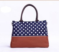 Wholesale Brand new design hot sale popular high quality portable fashion mummy diaper bag with pieces