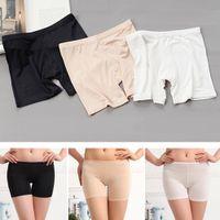 Cheap Wholesale-Women's Ladies Dancing Sport Short Tights Spandex Elastic Pants Safety Underwear