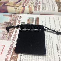 bargain watches - bargain price cm Black drawstring velvet jewelry bag for gifts bracelet bangle necklace watch earing decorations