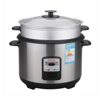 Wholesale Rice Cookers Rice cooker pot of domestic stainless steel quality goods on sale This upgrade to watts of glass cover