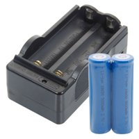 battery charger usa - Rechargeable MAH V V Li ion lithium Batteries For set Battery Charger USA E03232