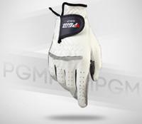 Wholesale HOT men s golf gloves white gloves men breathable sheepskin leather men s golf accessories
