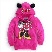 autum coats - Baby Girls Boys D Mouse Minnie Autum Tops Hoodie Sweatshirt Coat Outwear mouse macbook mouse sticker