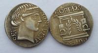 antique hallway - RM Time of Julius Caesar BC BONUS EVENTUS Scribonia Roman Silver Denarius Coin Factory Price nice home Accessories Silver Coins