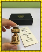 art decks - Petri RTA Clone ml Top Refilling Rebuidable Tank Atomizer Postless Deck with Glass Replacement VS TFV4 Tank Coil Art azeroth RDTA