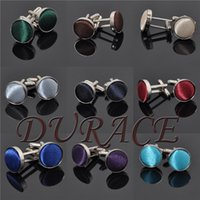 Wholesale Men s Cufflinks Fashion Jewelry Cloth Metal Buckle For Men Cuff Links Style Colors F498