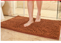 Wholesale 40CM CM Chenille carpet door mats door living room bathroom bedroom bath mats bath mats non slip floor mat