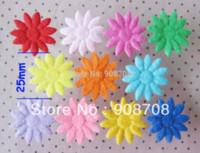 Wholesale PH004 Sunshin Flower Appliques Fabric Patch mm Felt Pads Jewelry Ornament M63003 jewelry ornament