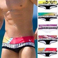 Cheap Aussi Mens beach pants Fashion mens Swimming Shorts Quick Dry swim Trunks Mens Swimwear mens underwear sexy briefs Swimming Trunks D239 5