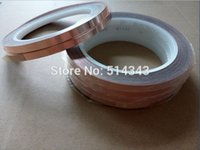 Wholesale M electrical tape adhesive copper foil tape for soldering bronze coloured mm x yds rolls