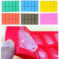 Wholesale 2016 new Brick Block Ice Mold Brick Ice Cube Tray Block Ice Tray mix colors