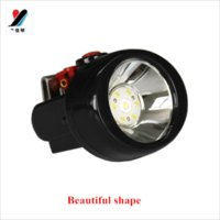 Wholesale new style light weight easy to protable ip mah lumen rechargeable18650 battery mining cap lamp headlamp via dhl