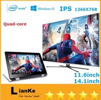 touch screen portable computers - 11 inch laptop in Quad core Intel GB GB Windows touch screen portable notebook computer intel hd screen DHL FREE